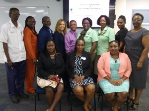 Dr. Nella Ann Roberts and some workshop participants